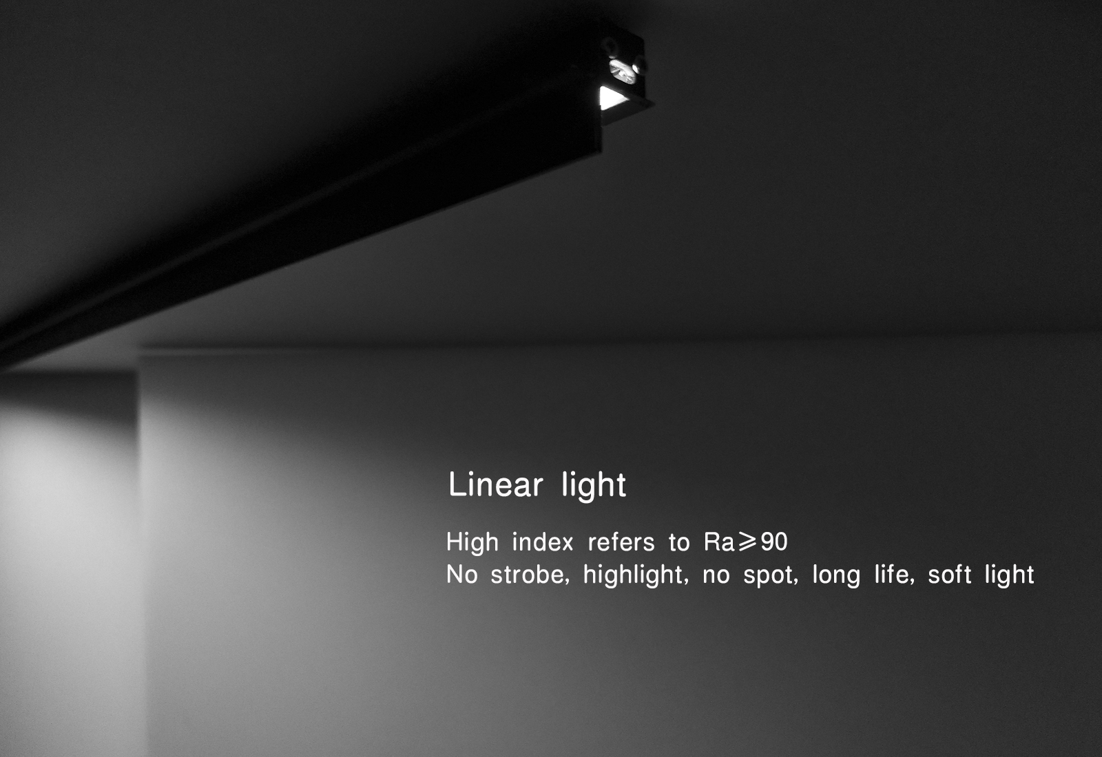 SP-18228 mini Linear light 90°Anti-vertigo